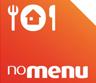 Logotipo do parceiro de entregas de comida - noMENU
